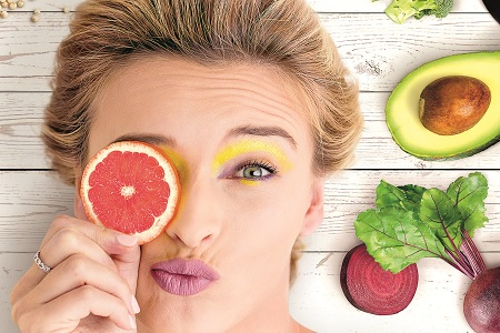 A colourful beauty routine for healthy skin