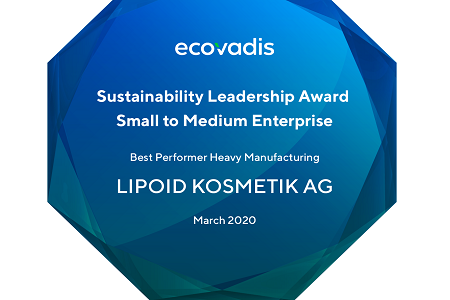 Top award for sustainability leadership