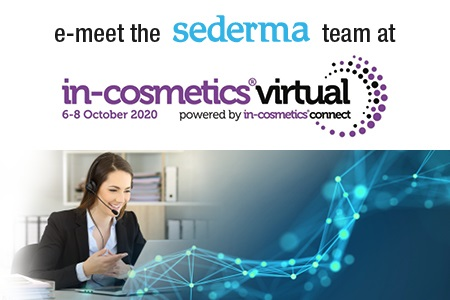 E-meet the Sederma team @ in cosmetics virtual