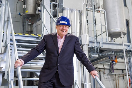 Virtual opening at new distillation plant